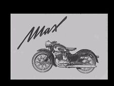 NSU MAX & SUPER MAX WORKSHOP MANUALS + 250 cc SuperMax Service Tuning & Repair