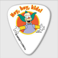 5 x Grover Allman The Simpsons Krusty Hey Hey Kids Guitar Picks *NEW* Plectrums