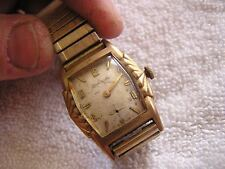 Vintage Bulova L9 Watch 17 Jewels  Fancy Case 11AF
