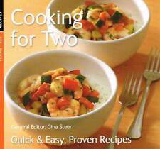 Cooking for Two: Quick & Easy, Proven Recipes NEW BOOK