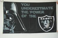 OAKLAND RAIDERS STAR WARS FLAG 3'X5' NFL BANNER
