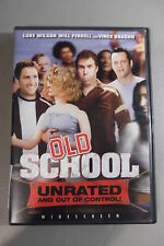 OLD SCHOOL DVD 2003 Widescreen Will Ferrell Luke Wilson Vince Vaughn Unrated #12