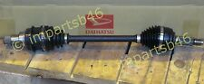 DAIHATSU CHARADE 2004 ON SHAFT ASSY,FRONT DRIVE LH NEW OEM PART 43420B2012