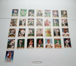 1993 Topps Cincinnati Reds 29 Card Team Set NrMt