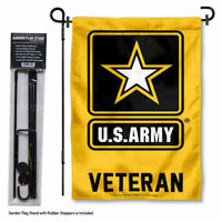 U.S. Army Veteran Garden Flag and Yard Stand Included