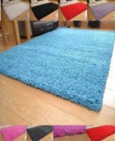 Small And Large Size Thick Plain Soft Shaggy Living Room Rug Bedroom Floor Rugs