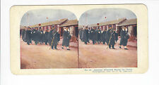 Ingersoll Stereoviews: Siege of Port Arthur #23, Japanese Wounded Bound for Home
