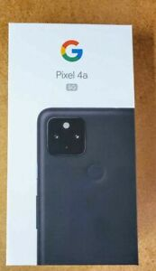 Google Pixel 4a 5G GA02293 - 128GB - Just Black (Google Unlocked) (Single SIM)