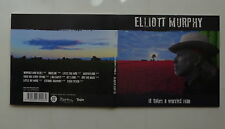 CD Album ELLIOTT MURPHY It takes a worried man Digipack lc949cd