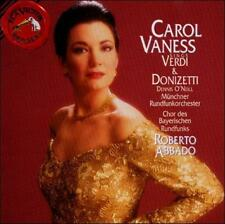 LN RARE! Carol Vaness Sings Verdi & Donizetti RCA RED SEAL CD 1996