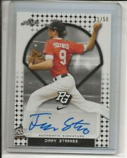 2018 Leaf Perfect Game Jimmy Starnes WEST VIRGINIA MOUNTAINEERS RC Auto 41/50