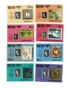 SPECIAL LOT Bhutan 1990 894-900,5 - Penny Black 150th Ann. - 20 Sets of 8v - MNH