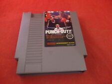 Mike Tyson's Punch-Out (Nintendo Entertainment System, 1987) NES game WORKS!