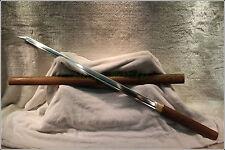HANDMADE JAPANESE SHRINE NINJA SECT SAMURAI SWORD KATANA WOOD SHELL #1471