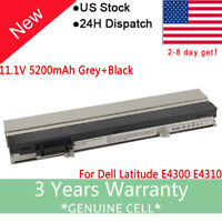 Battery For Dell Latitude E4300 E4310 Laptop XX337 FM332 XX327 Power Supply USA