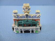 Disney Worid WDW Main Street USA Train Station mini Diorama Miniature Figure