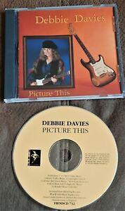 DEBBIE DAVIS PICTURE THIS 1993 CD BLUES