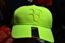 NIKE Men Roger Federer RF Hybrid Tennis Cap Hat  Volt  371202 704