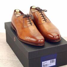 * NIB * $455 Allen Edmonds VERNON 9 D Walnut * 1st Q new Shoe Trees AE Bags