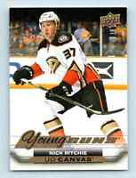 2015-16 Upper Deck Canvas Young Guns Nick Ritchie RC #C234