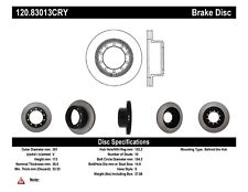 Disc Brake Rotor-Premium Cryo Treated Disc Rear,Front Stoptech 120.83013CRY