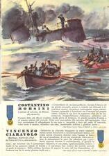 A1916) WW2 MARINA M.O. BORSINI DA MILANO CIARAVOLO DA TORRE DEL GRECO (NAPOLI)