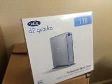 LaCie d2 Quadra 2TB External Disk Drive New Sealed