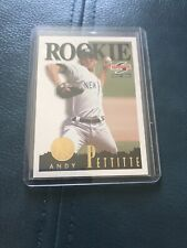 1995 Score Andy Pettitte #168 Summit Edition ROOKIE CARD-Yankees-Astros