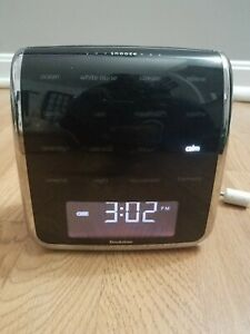 Brookstone Tranquil Moments Advanced Sleep Therapy Sound Machine Alarm Clock
