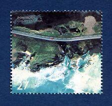 "British Coastlines ""Port Rush, County Antrim"" Illustrated on 2002 stamp"