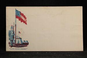 Confederate: Unused Patriotic Cover, Death Before Dishonor