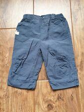 TU (Sainsbury's Dark Blue Trousers (3 - 6 Months) - Very Good Condition