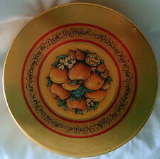 Cookie Tin - Joy to the World with Golden Fruit