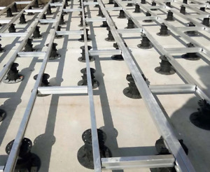 Floor risers for Decks and stages – thread adjustable – permanent or temporary