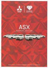 Prospekt / Brochure MItsubishi ASX Diamant Edition 08/2015