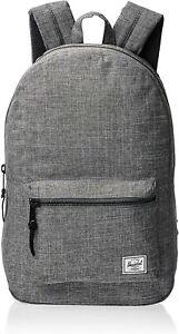 Herschel Settlement Backpack, Raven Crosshatch, Mid-Volume 17.0L
