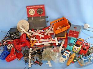 Job lot of vintage Scalectrix