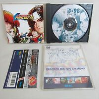 THE KING OF FIGHTERS 98 with Calender Neo Geo CD SNK Neogeo JAPAN Game nc