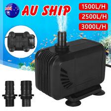 Submersible Pond Water Pump Fish Tank Aquarium Marine Waterfall Fountain Filter