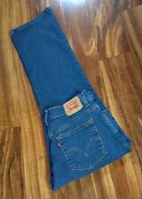 SUPER SEXY HOT! Levi's 550 Relaxed Bootcut Jeans 12s W34 L29 FREE PRIORITY SHIP