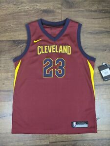 Nike Swingman Cleveland Cavaliers LeBron James Jersey Brand New Size Youth Large