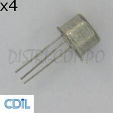 BC141-16 Transistor NPN TO-39 60V 1A CDIL RoHS (Lot de 4)
