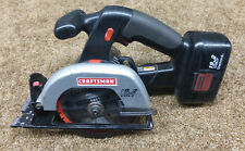 CRAFTSMAN 315.114261 Cordless 19.2 Volt Circular Saw W/Battery 315.113753