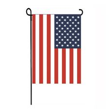 "AMERICAN FLAG USA PATRIOTIC YARD GARDEN FLAG 12"" X 18"""