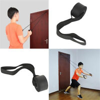 New Resistance Exercise Bands - Advanced Door Anchor Black Fitness
