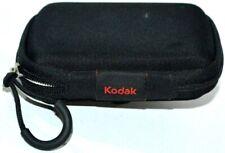 Kodak Digital Camera Case  Black ZipperW/ Belt Clip Universal Small Camera Bag