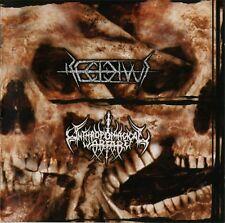 RECIVIDUS / ANTHROPOPHAGICAL WARFARE Split CD