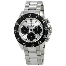 Invicta Speedway Chronograph Silver Dial Mens Watch 22392