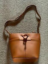 KIOMI Leder Damen-Handtasche cognac Tasche Schultertasche Shopper Tote Bag*Neu