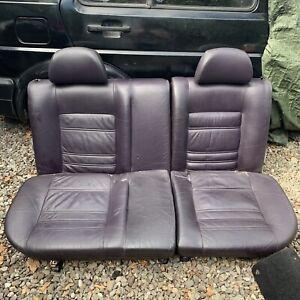 VW Volkswagen Mk3 Golf VR6 Highline Mulberry Full Leather Interior